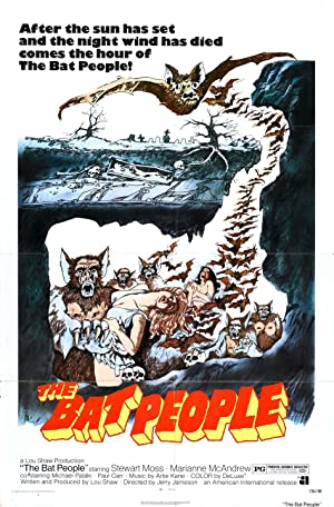 The Bat People poster