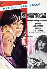 La corrupción de Chris Miller Poster
