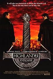 Highlander: Endgame Poster