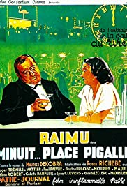 Minuit... place Pigalle Poster