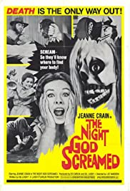 The Night God Screamed Poster