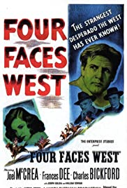 Four Faces West Poster