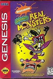 Nickelodeon: Aaahh!!! Real Monsters Poster