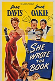 She Wrote the Book Poster