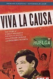 Viva la causa Poster