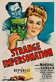Strange Impersonation (1946) Poster - Movie Forum, Cast, Reviews