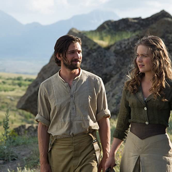 Michiel Huisman and Hera Hilmar in The Ottoman Lieutenant (2016)