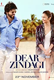 Dear Zindagi (2016) 720p BluRay x264 AAC 5.1 ESub -DDR – 1.78 GB