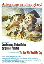 The Man Who Would Be King (1975) Poster - Movie Forum, Cast, Reviews