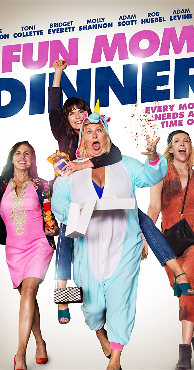 Kai šėlsta mamos / Fun Mom Dinner (2017) Online