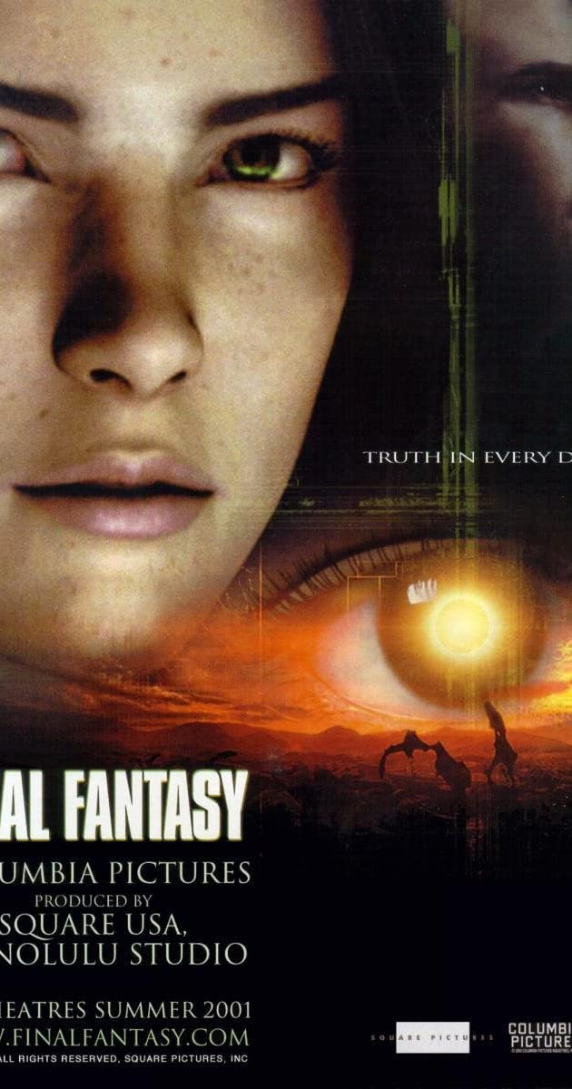 final fantasy the spirits within 2001 imdb