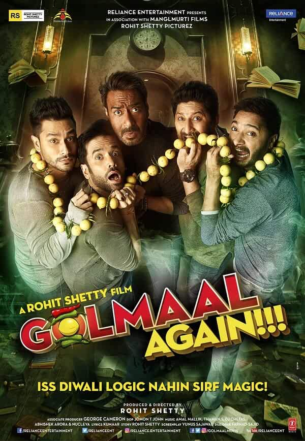 Golmaal Again 2017 Hindi 480p BluRay full movie watch online freee download at movies365.ws