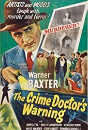The Crime Doctor's Warning (1945) Poster - Movie Forum, Cast, Reviews