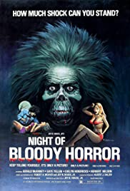 Night of Bloody Horror(1969) Poster - Movie Forum, Cast, Reviews