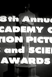 The 28th Annual Academy Awards Poster