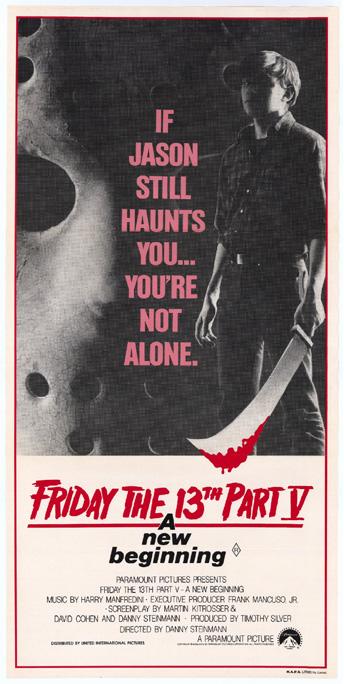 Image result for friday the 13th a new beginning