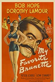 My Favorite Brunette(1947) Poster - Movie Forum, Cast, Reviews