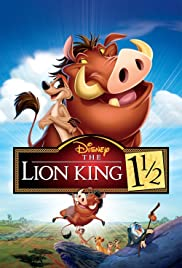 The Lion King 1 1/2 Poster