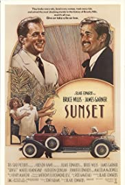 Sunset (1988) Poster - Movie Forum, Cast, Reviews