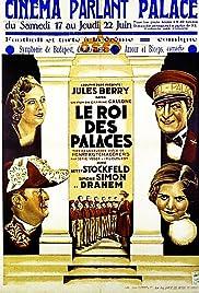 Le roi des palaces Poster