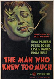 The Man Who Knew Too Much (1934) Poster - Movie Forum, Cast, Reviews