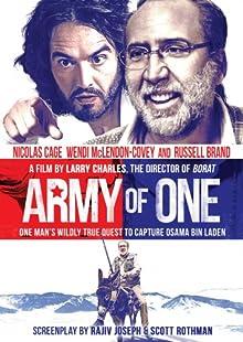 Poster Army of One: Ein Mann auf göttlicher Mission