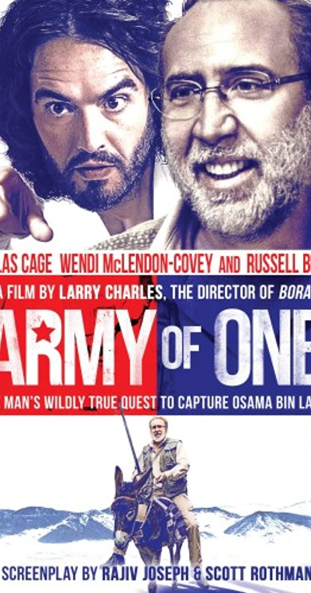 Army of One parsisiusti atsisiusti filma nemokamai
