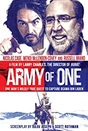 Army of One (2016) Poster - Movie Forum, Cast, Reviews
