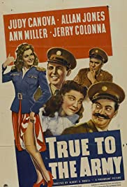 True to the Army Poster