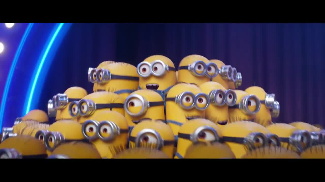 """""""Minions Take the Stage"""" from Despicable Me 3 (2017)"""