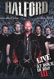 Halford: Live at Rock in Rio 2001 Poster