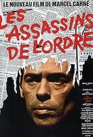 Les assassins de l'ordre Poster