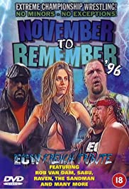 ECW November to Remember '96 Poster