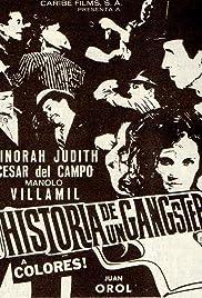 Historia de un gangster Poster