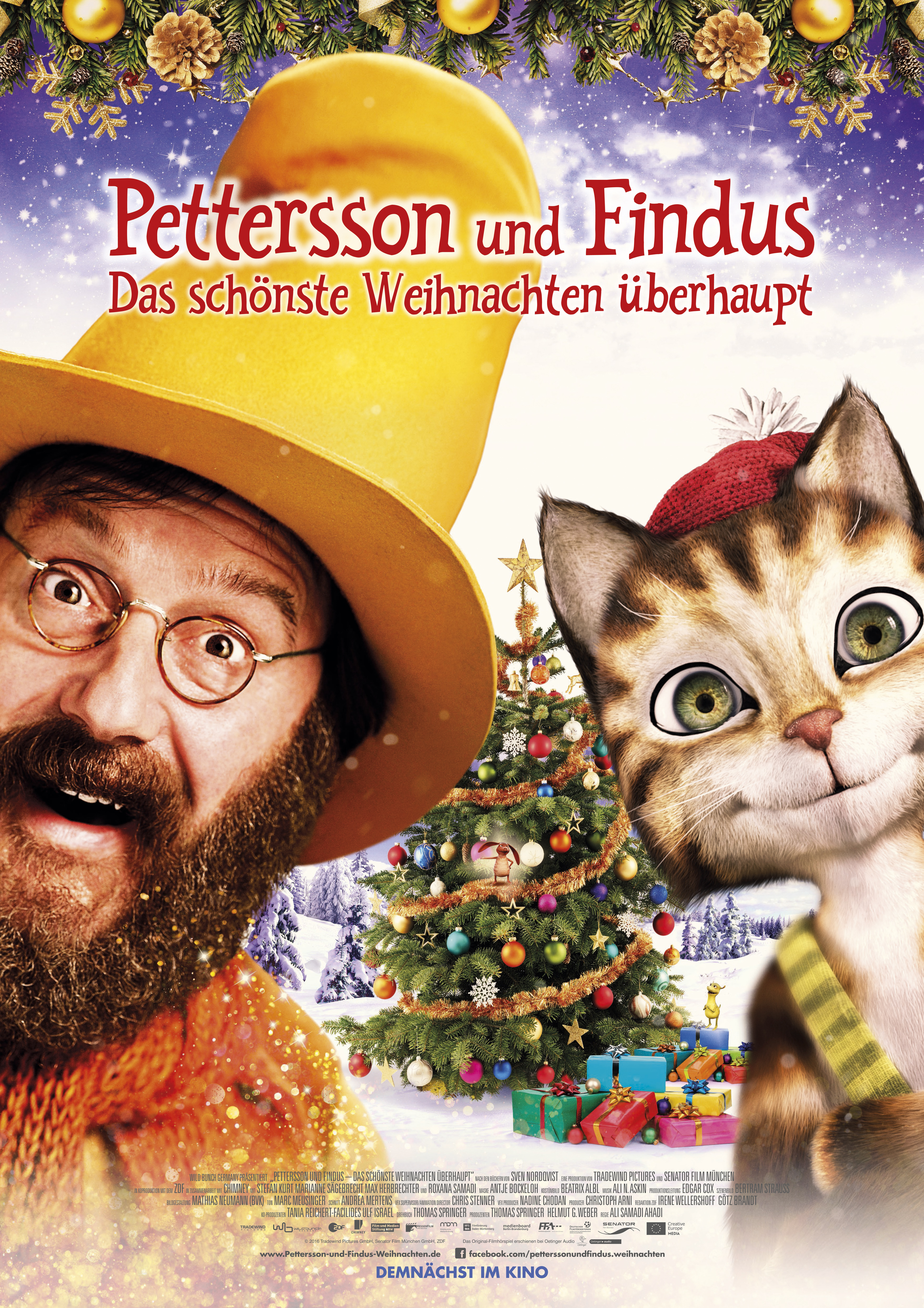 Pettersson und Findus 2 – Das schönste Weihnachten überhaupt Watch Full Movie Free Online