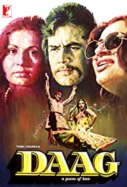 Daag: A Poem of Love (1973) Poster - Movie Forum, Cast, Reviews