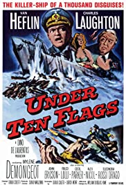 Under Ten Flags (1960) Poster - Movie Forum, Cast, Reviews