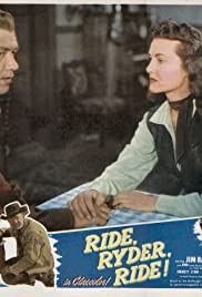 Ride, Ryder, Ride! Poster