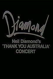 Neil Diamond: The 'Thank You Australia' Concert Poster