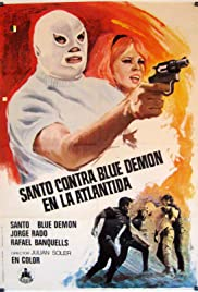 Santo vs. Blue Demon in Atlantis Poster