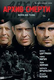 Archiv des Todes Poster - TV Show Forum, Cast, Reviews