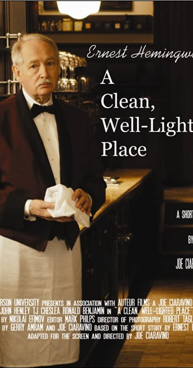 clean well lighted place 1