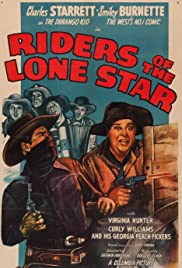 Riders of the Lone Star Poster