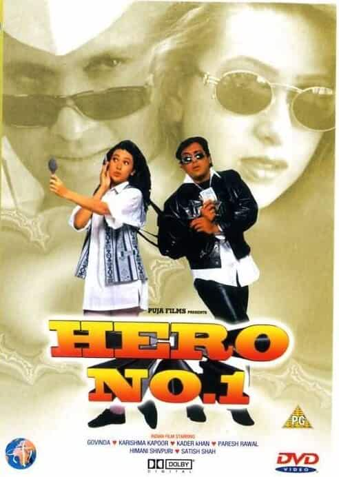 Hero No. 1 1997 Hindi Full Movie 720p HDRip ESubs Download