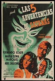 Las cinco advertencias de Satanás Poster