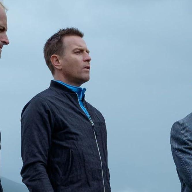 Ewan McGregor, Jonny Lee Miller, and Ewen Bremner in T2 Trainspotting (2017)