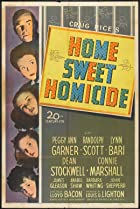 Home, Sweet Homicide (1946) Poster