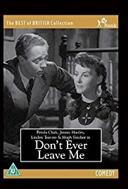 Don't Ever Leave Me Poster
