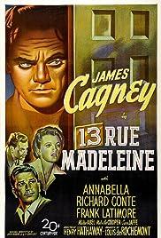 13 Rue Madeleine(1946) Poster - Movie Forum, Cast, Reviews