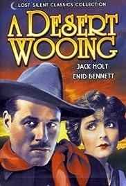 A Desert Wooing Poster